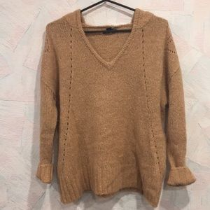 NEW American Eagle Jegging Fit Camel Sweater